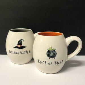 Rae Dunn Brand New 2 halloween mugs